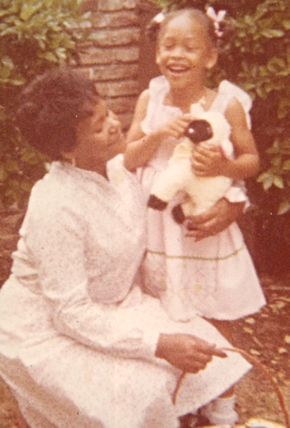 1980 (Easter with Grandmother)