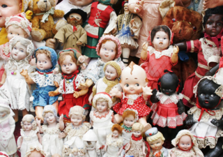 Flea Market Dolls